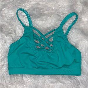SecondSkin Dancewear Austin Top - mint